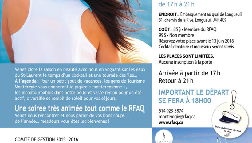 RFAQ, secteur de la Montérégie